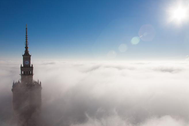 Panorama Warszawy widziana z apartamentowca Złota 44 (1) (c) ORCO fot. Krzysztof Freszel INSO