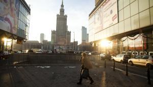 Warszawa - widok na PKiN