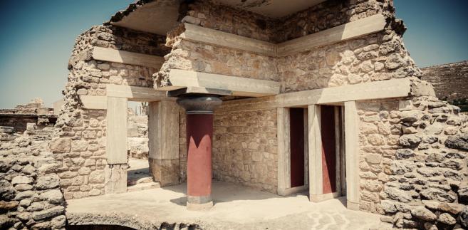 Pałac Knossos na Krecie