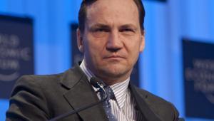 Minister spraw zagranicznych Radosław Sikorski