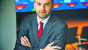Michał Kobza z działu analiz, strategii i rozwoju GPW materiały prasowe