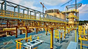Budowa terminalu LNG - lipiec 2013. Zdj. Polskie LNG