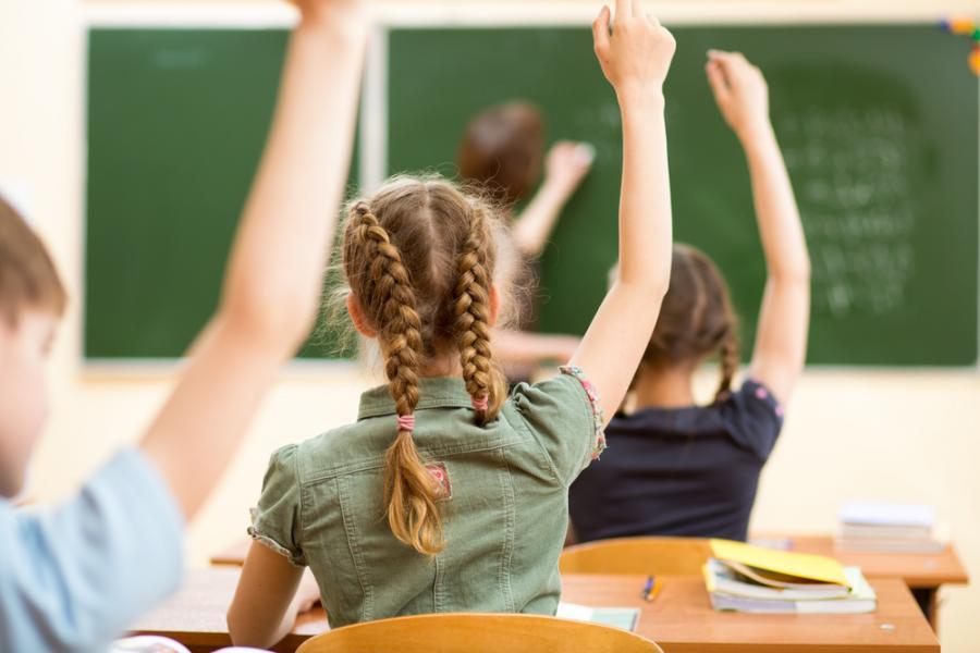 szkoła, uczniowie, lekcja