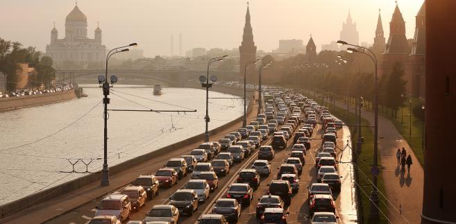 Moskwa o zmierzchu, 12.09.2013