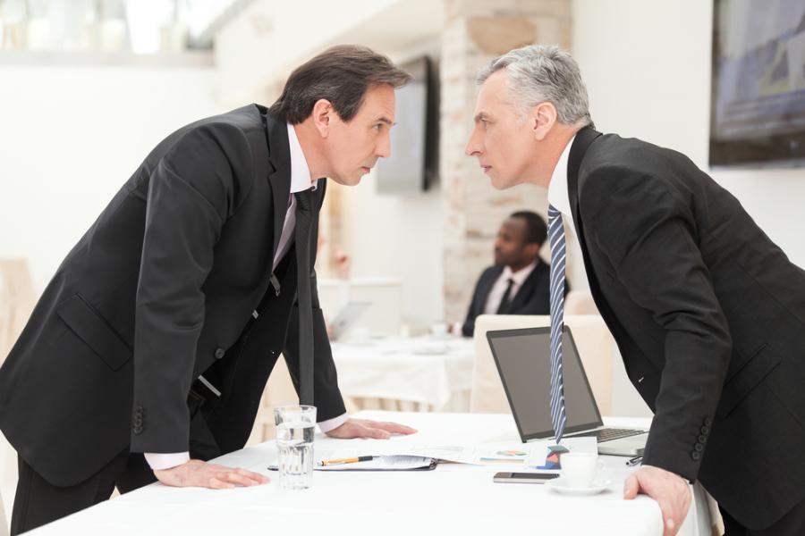 szef, kłótnia