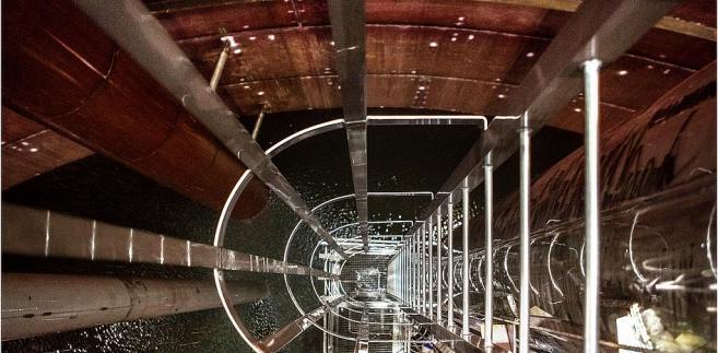 Terminal LNG, próba wody - październik 2014; fot. materiał prasowy Polskie LNG SA