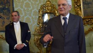 Sergio Mattarella, EPA/ETTORE FERRARI Dostawca: PAP/EPA.