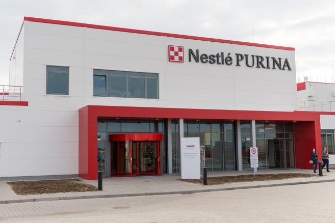 W Nowej Wsi Wrocławskiej otwarto 16 bm. pierwszą w Polsce fabrykę Nestle Purina, produkującą na rynki europejskie karmę dla zwierząt. (mk/mr) PAP/Maciej Kulczyński