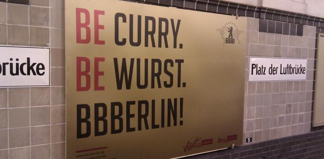Curry Wurst Berlin. Fot.  GillyBerlin