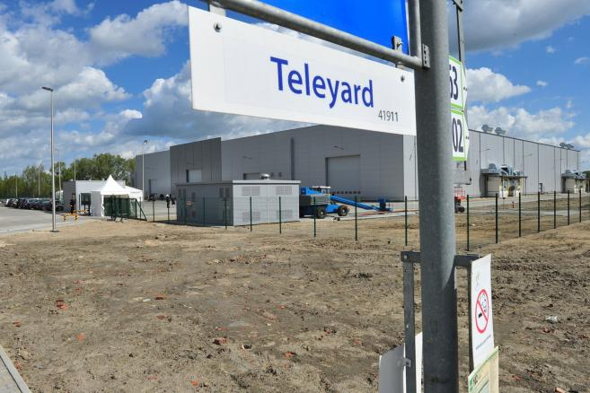 Otwarcie nowej hali fabryki Teleyard (ukit) /Marcin Bielecki