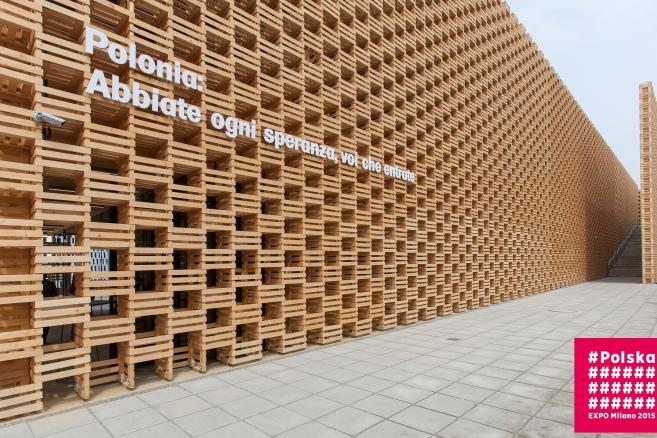 Polski pawilon na expo 2015 Autor: Honorata Kawecka
