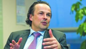 Tomasz Bogus zastąpi na stanowisku prezesa Józefa Wancera WOJTEK GÓRSKI