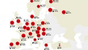 Spożycie alkoholu wśród dorosłych w Europie