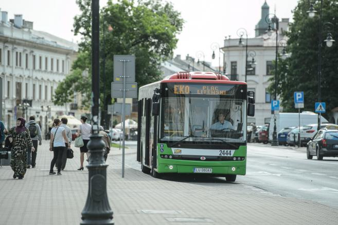 Darmowa linia EKO z elektrycznym autobusem w Lublinie (wp/cat) PAP/Wojciech Pacewicz