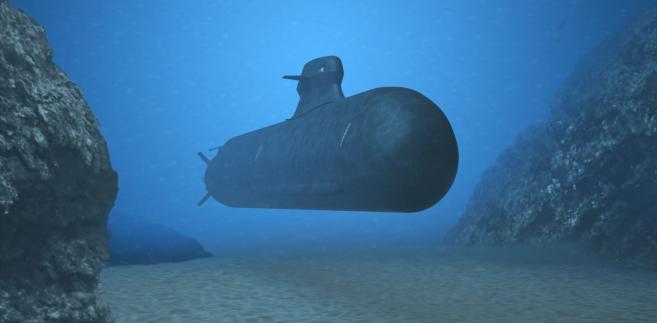 Wizualizacja okrętu podwodnego nowej generacji Saab A26. Materiały prasowe Saab
