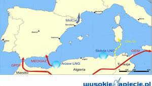 Gaz LNG Afryka, źródło: Wysokie Napięcie