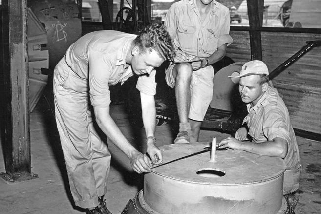 1. Przygotowania do ataku nuklearnego na Japonię - fot. ©National Archives