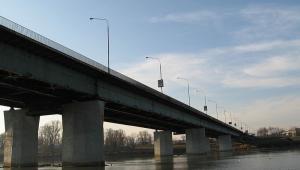 Most Łazienkowski w Warszawie przed pożarem, Fot. Masti, CC BY-SA 2.5