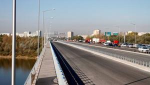 Most Grota - jeszcze zamknięta jezdnia południowa