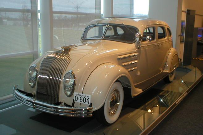 Chrysler Airflow (fot. Randy Stern/Flickr)