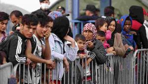 Imigranci w Chorwacji Fot. EPA/ANTONIO BAT Dostawca: PAP/EPA.