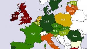 Hurtowe ceny energii elektrycznej w UE