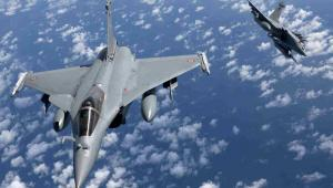 Francuskie myśliwce Rafale EPA/AMBOISE/ECPAD/SIRPA AIR/PAP/EPA.