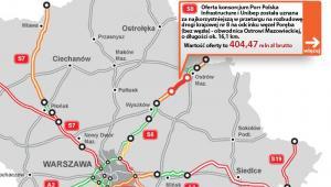 S8 - węzeł Poręba - Ostrów Maz.