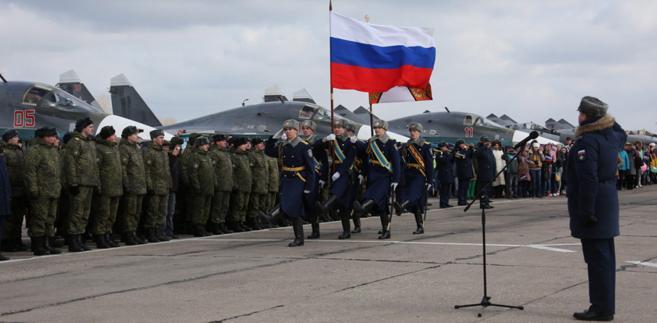Rosja siły zbrojne Syria