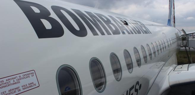Bombardier C Series wypełnia niszę między Airbusem i Boeingiem a Embraerem fot. PLL LOT