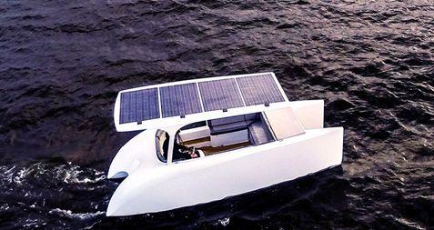 Łódka Solliner. Źródło: http://greendreamboats.com
