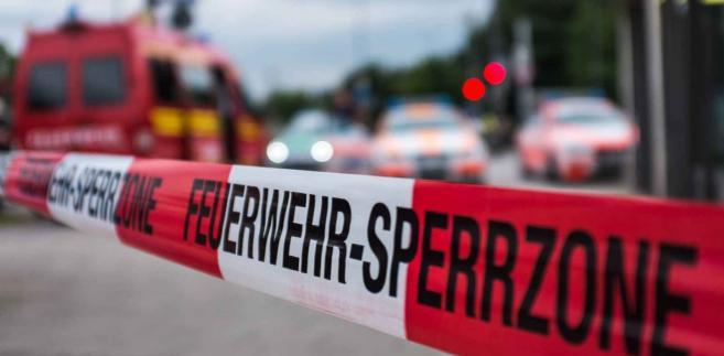 Strzelanina w Monachium EPA/LUKAS SCHULZE Dostawca: PAP/EPA.