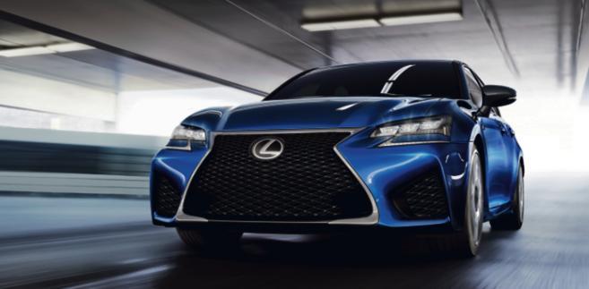 Lexus GS F materiały prasowe