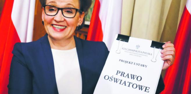 Anna Zalewska, minister edukacji Paweł Supernak/PAP