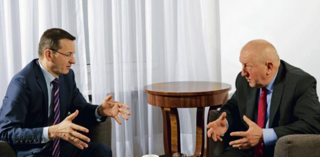Mateusz Morawiecki wiceprezes Rady Ministrów, minister rozwoju i finansów WOJTEK GÓRSKI