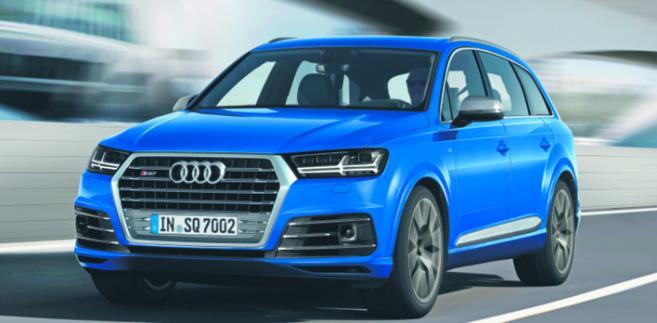 Audi SQ7 fot. materiały prasowe