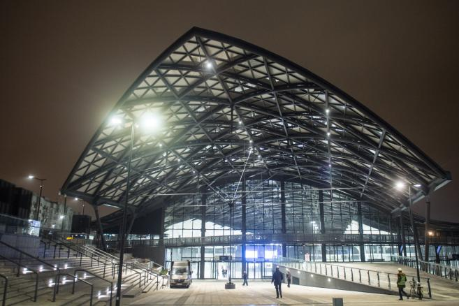 Nowy dworzec Łódź Fabryczna - uroczyste otwarcie