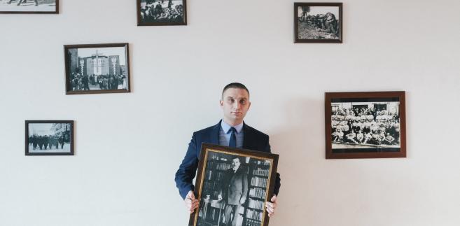 Robert Bąkiewicz Fot. Maksymilian Rigamonti