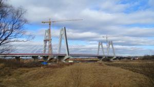 S7 na wschodniej obwodnicy Krakowa. Najdłuższy most w Małopolsce