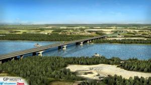 Most przez Wisłę w ciągu S2 Puławska-Lubelska, źródło: GDDKiA