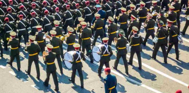 Rosja wojsko defilada, fot. Kisov Boris