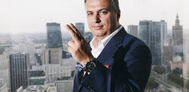 Viktor Wanli, założyciel i prezes firmy Kinguin. Fot. Maksymilian Rigamonti