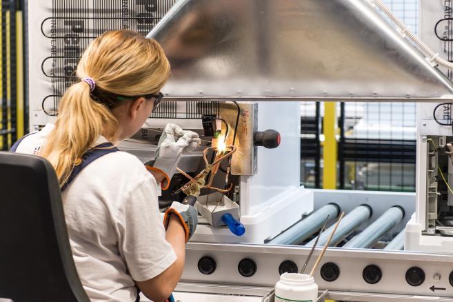 fabryka Bosch fot. (mk/nlat) PAP/Maciej Kulczyński