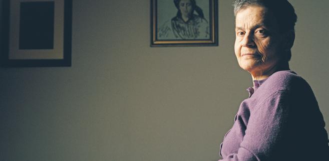 """Ewa Milewicz publicystka """"Gazety Wyborczej"""", działaczka opozycji w czasach PRL, prawniczka i dziennikarka fot. Darek Golik"""