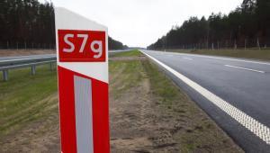 Trasa S7 na odcinku Rychnowo - Olsztynek