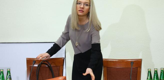 Przewodnicząca komisji śledczej ds. Amber Gold Małgorzata Wassermann