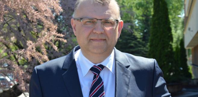 Kazimierz Michał Ujazdowski, kandydat PO na prezydenta Wrocławia, były wiceprezes PiS