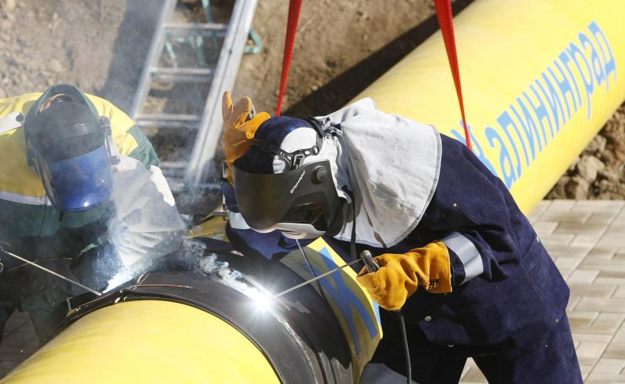 Rurociąg należący do Gazpromu