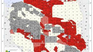 Mapa koncesji na poszukiwanie i rozpoznawanie gazu łupkowego - stan na 1 października 2012 (źródło: Ministerstwo Środowiska)