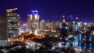 Dżakarta nocą